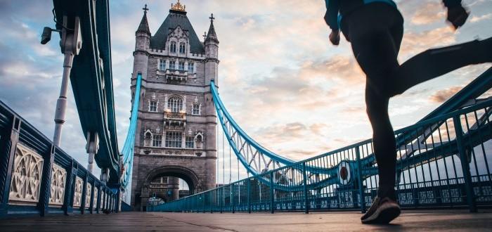 Sharon Vaughn Runs London Marathon to Raise Money for Dyslexia Research Photo